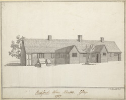 Rochford Alms houses Essex 1787